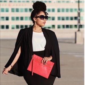 Rachel Roy Tuxedo Cape Blazer 🔥
